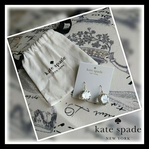 Brand new! Kate Spade large gem dangles